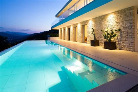 luxurious swiss villa sizzles  spectacular views