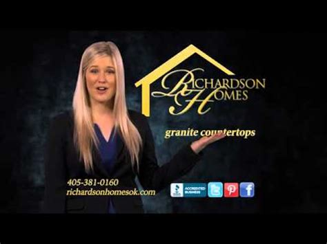 richardson homes richardson homes oklahoma custom home builder tv
