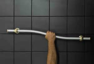 designer grab bars for bathrooms remodel with abbie joan does your grab bar selection compromise your bathroom design