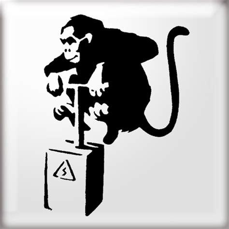 graffiti wallpapers banksy banksy art monkey
