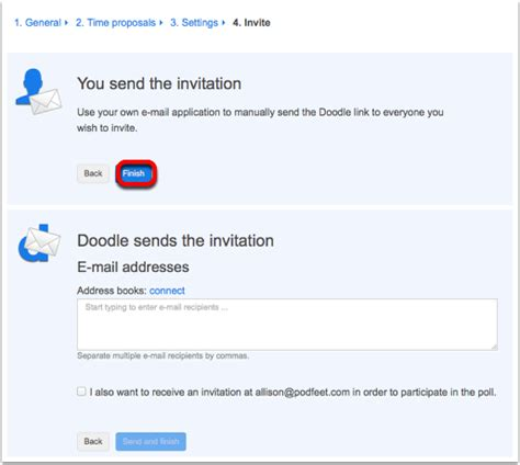 doodle polls notifications doodle simplifies scheduling podfeet podcasts