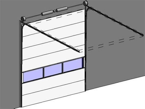 Garage Door Revit Revitcity Object Clopay Commercial Sectional Overhead Garage Door Model 3150