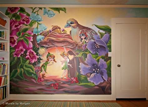 Tinkerbell Wall Murals Tinkerbell Murals And Tinkerbell And Friends On Pinterest