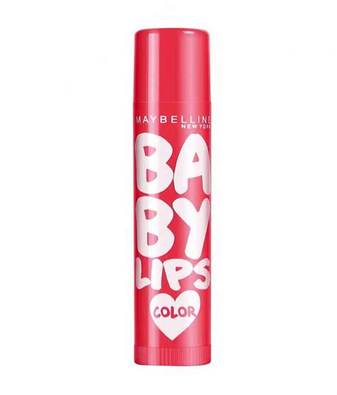 Maybelline Baby Balm In Soothing Cherry maybelline baby cherry lip balm 4 gm pack of 4 buy maybelline baby cherry