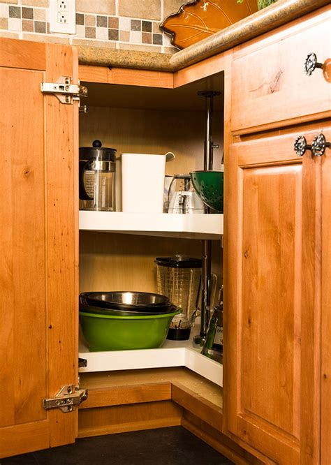 Organizing Corner Kitchen Cabinets 25 Kitchen Organization And Storage Tips Storage Toasters And Mixers