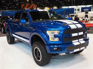 Shelby Ford F150 New Chicago Auto Show F 150 Photos Shelby Version Included