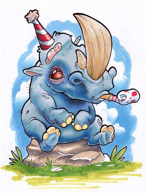 New School Rhino Tattoo | xeviousthegreat tara quinn deviantart