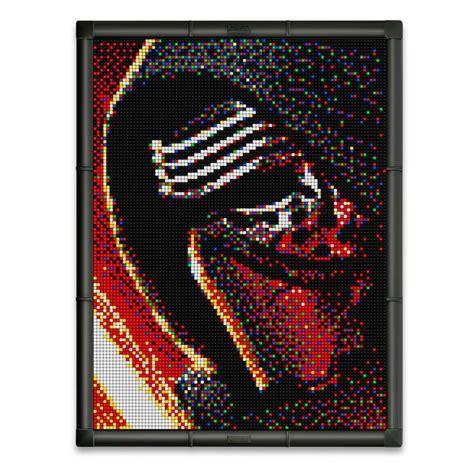 pixel art 9 star wars kylo ren disney pixar pixel art