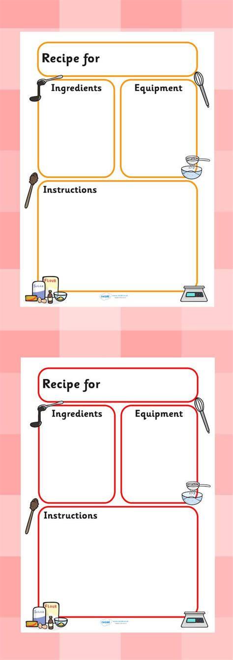 Chef Recipe Card Template by 25 Best Ideas About Recipe Templates On