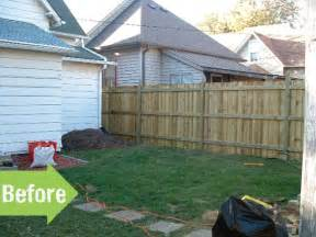Small Backyard Ideas Before After Before After Christopher S Amazing Backyard Makeover
