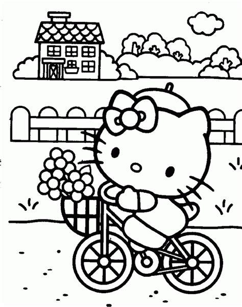 imagenes para colorear kitty dibujos para colorear hello kitty ii dibujos para