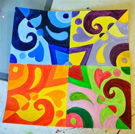 pattern lesson ideas color theory lessons got the idea for this lesson from a