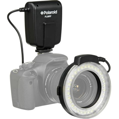 polaroid macro led ring flash for nikon plmrfn b h photo