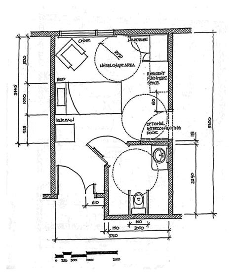 single bedroom dimensions w a benbow 187 multilevel care mlc design guidelines