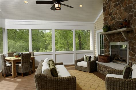 screened in porch designs with fireplace houzz screened porch with fireplace home design ideas