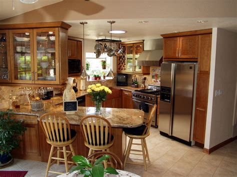 The Solera Group Low Cost Cozy Alcove Small Kitchen Kitchen Remodeling Designs
