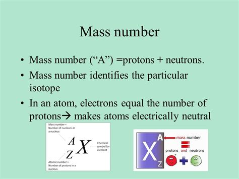 Do Protons And Neutrons The Same Mass by Studying Atoms Lecture Ppt