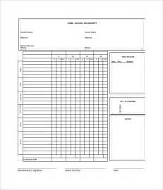 Blank Report Card Template by Sle Homeschool Report Card 5 Documents In Pdf Word