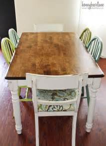 How To Refinish A Dining Room Table The Difference Between Orbital And Palm Sanders Honeybear