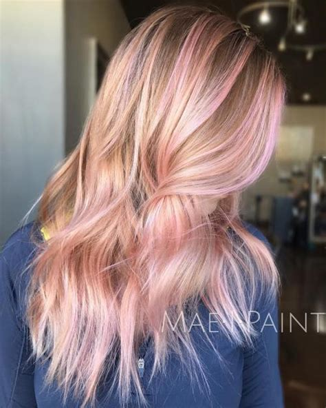 blondehairstyles with redpink in pink hair is here to stay