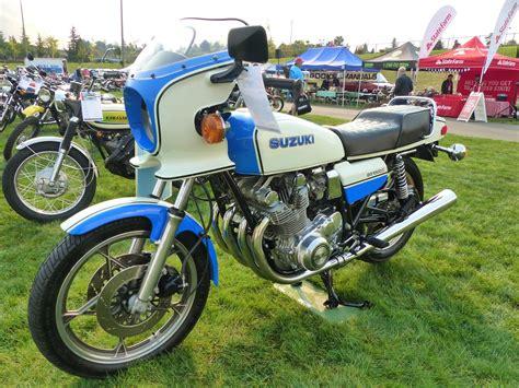 Suzuki Wa Oldmotodude 1980 Suzuki Gs1000s On Display At Quot The Meet