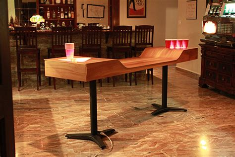 Custom Pong Table by Custom Pong Table The Awesomer