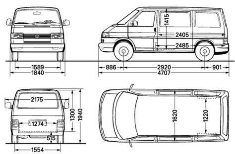 volkswagen caravelle dimensions vw t4 floor plans and dimensions http i143 photobucket