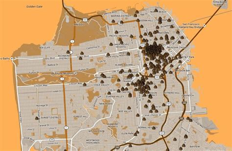 san francisco excrement map so you ve decided to map sidewalk in san francisco