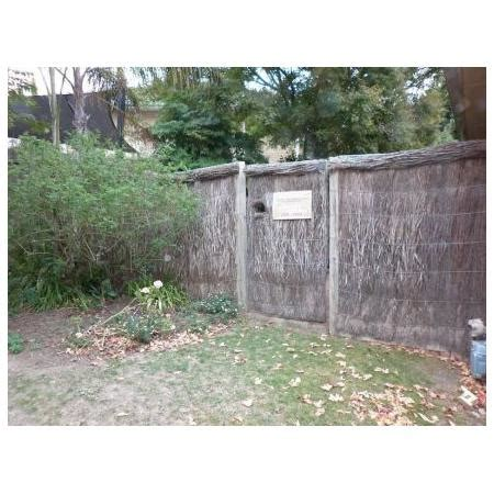 Adelaide Brush Fencing Melbourne - adelaide brush fencing on 33 clematis rd mt vic