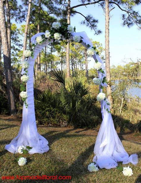 Wedding Arch Rental Dallas by White Hydrangea Wedding Arch S Wedding