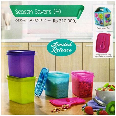 Tupperware Season Saver 4 season savers tupperware promo september 2014