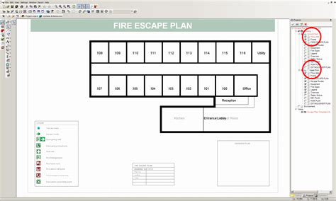 fire escape floor plan visual building topic fire escape plan for hotel with