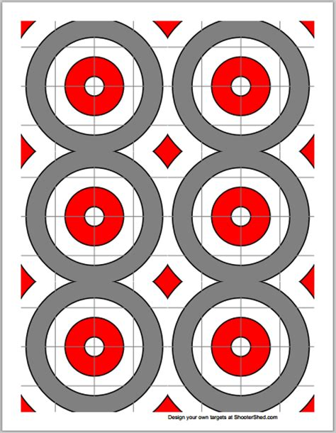 make your own printable shooting targets number names worksheets 187 target practice printable free