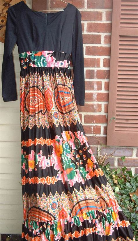 vintage hippie soho dress mod retro size 8