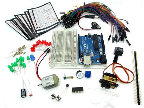 Learn Electronics With Arduino An Illustrated Beginner S Ebook seeed studio starter kit ardx pour arduino