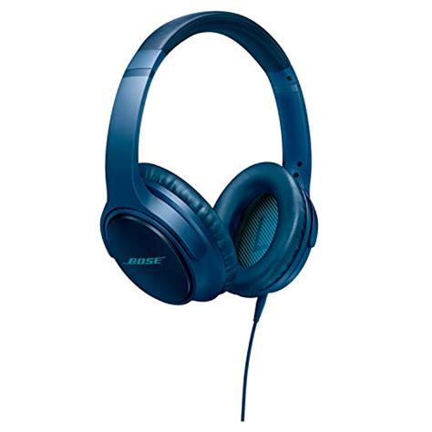 bose soundtrue  ear wired headphones ii apple devices navy blue speakersbluetoothcom