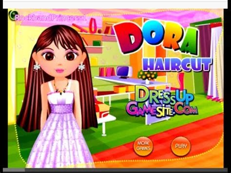 dora hairstyles games dora haircut game youtube