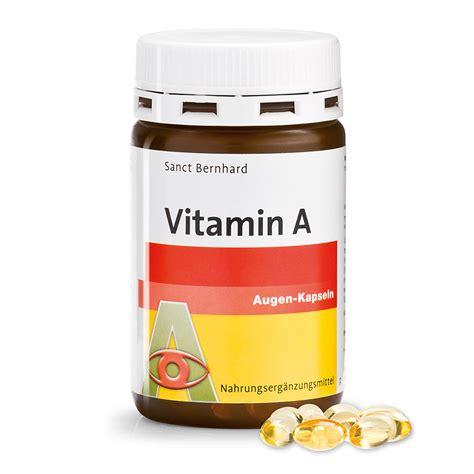 Vitamin Nr Vitamin A Augen Kapseln Kr 228 Uterhaus Sanct Bernhard