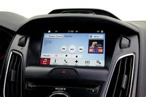 Ford Sync Connected Car Ford Axes Troubled Myford Touch For Sync 3