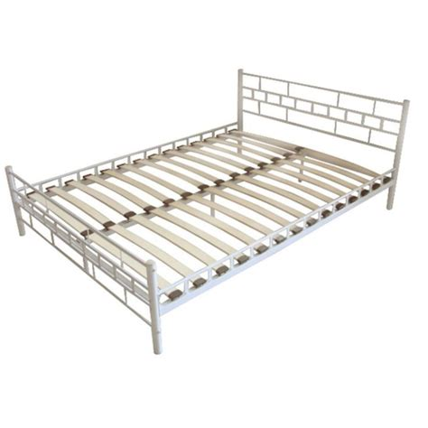 steel bed slats 25 best ideas about metal double bed frame on pinterest