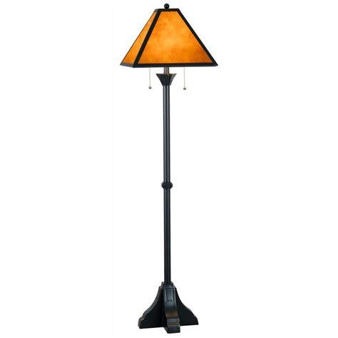 rubbed bronze swing arm floor l shop allen roth 58 in rubbed bronze 3 way floor l