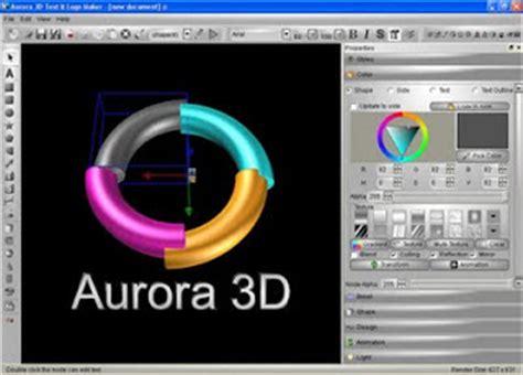 aurora 3d logo maker full version free download aurora 3d text logo maker full version free download