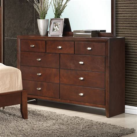 carolina dresser brown cherry dressers bedroom