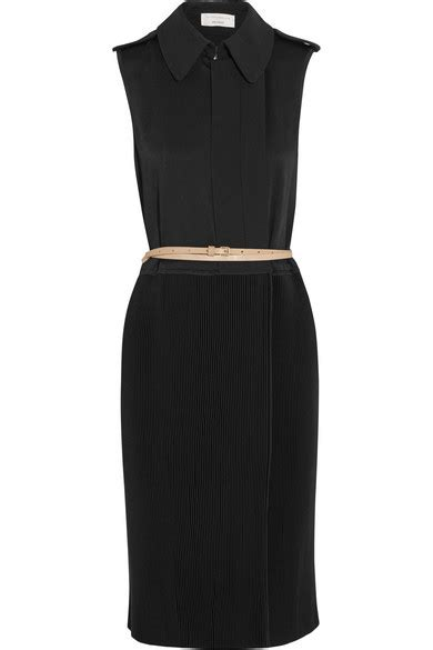 Beckham Sell Outs A Dress Before It Hits The Shop Floor by Beckham Pleated Crepe Dress Net A Porter