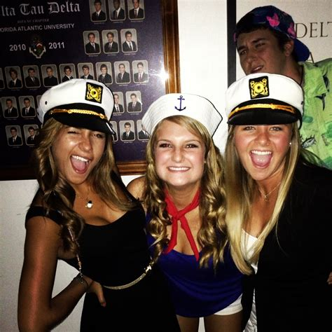 boats and hoes party costume ideas total sorority move fau