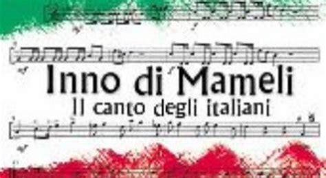 inno italiano testo cos 232 l elmo di scipio se mameli potesse parlare ripost