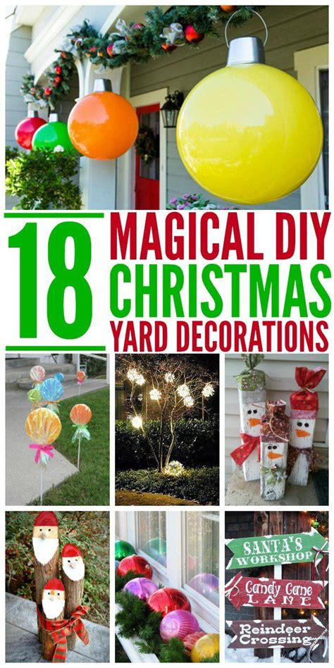 how to fix externa christmas decorations 18 magical yard decorations one house yard yards and