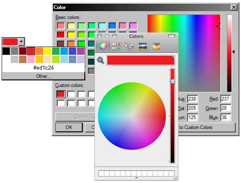 w3c color picker html5 form additions w3c wiki