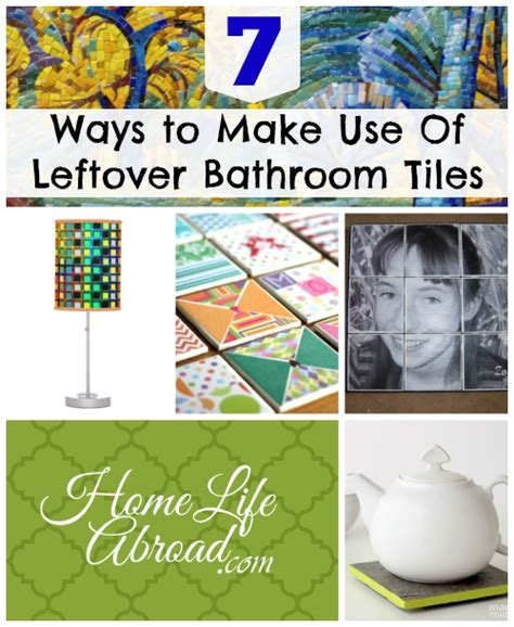 what to do with leftover tile diy remodeling 7 ways to make use of leftover bathroom