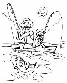 fishing coloring page az coloring pages